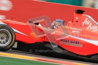 World © Octane Photographic Ltd. 2011. Belgian GP, GP3 Practice session - Saturday 27th August 2011.  Alexander Sim of Status Grand Prix. Digital Ref : 0204lw7d4024