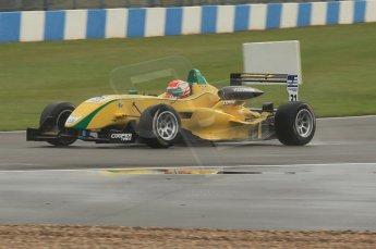 © Octane Photographic 2011 – British Formula 3 - Donington Park - Race 2. 25th September 2011, Felipe Nasr - Carlin - Dallara F308 Volkwagen. Digital Ref : 0186lw1d6839