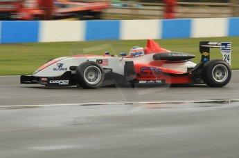 © Octane Photographic 2011 – British Formula 3 - Donington Park - Race 2. 25th September 2011. Digital Ref : 0186lw1d7051