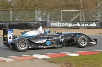 © Octane Photographic 2010. British Formula 3 Easter weekend April 3rd 2010 - Oulton Park. Hitech Racing - Gabriel Dias. Digital Ref. 0049CB1D6195