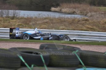 © Octane Photographic 2010. British Formula 3 Easter weekend April 5th 2010 - Oulton Park. Hitech Racing - Gabriel Dias. Digital Ref. 0049LW40D2023