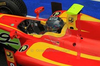 World © Octane Photographic Ltd. 2011. British GP, Silverstone, Saturday 9th July 2011. GP2 Practice Session Pit Lane. Christian Vietoris - Racing Engineering Digital Ref: 0108LW7D5355