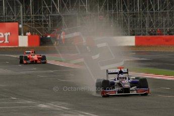 World © Octane Photographic Ltd. 2011. British GP, Silverstone, Saturday 9th July 2011. GP2 Practice Session Pit Lane. Rodolfo Gonzalez - Trident Racing Digital Ref: 0108LW7D5560