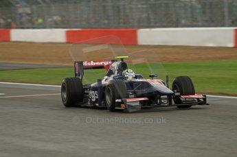 World © Octane Photographic Ltd. 2011. British GP, Silverstone, Saturday 9th July 2011. GP2 Practice Session Pit Lane. Marcus Ericsson - iSport International Digital Ref: 0108LW7D5591