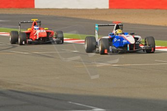 World © Octane Photographic Ltd. 2011. British GP, Silverstone, Sunday 9th July 2011. GP3 Race 2. Digital Ref: 0111LW7D6816