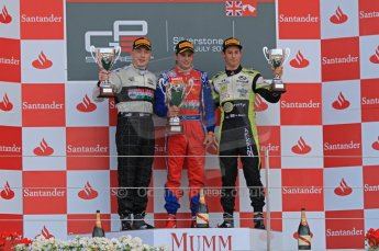 World © Octane Photographic Ltd. 2011. British GP, Silverstone, Sunday 9th July 2011. GP3 Race 2. Digital Ref: 0111LW7D7583