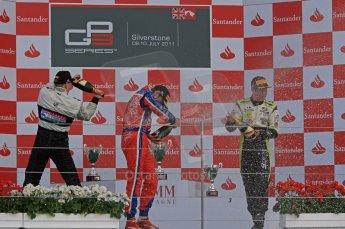 World © Octane Photographic Ltd. 2011. British GP, Silverstone, Sunday 9th July 2011. GP3 Race 2. Digital Ref: 0111LW7D7616