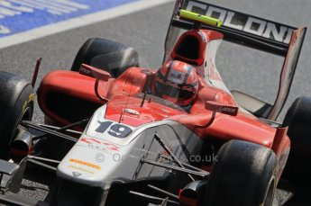 World © Octane Photographic Ltd. 2011. British GP, Silverstone, Saturday 9th July 2011. GP2 Race 1. LUCA Filippi - Scuderia Coloni. Digital Ref: 0109LW7D6450