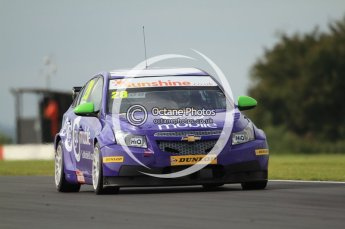 © Octane Photographic Ltd. 2011. British Touring Car Championship – Snetterton 300, John George - Chevrolet Cruze - GoMobileUK.com with tech-speed. Saturday 6th August 2011. Digital Ref : 0121CB7D8664