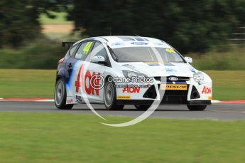© Octane Photographic Ltd. 2011. British Touring Car Championship – Snetterton 300, Andy Neate - Ford Focus - Team Aon. Saturday 6th August 2011. Digital Ref : 0121CB7D8744