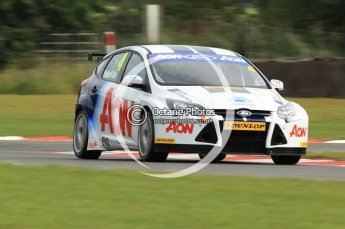 © Octane Photographic Ltd. 2011. British Touring Car Championship – Snetterton 300, Tom Onslow-Cole - Ford Focus - Team Aon. Saturday 6th August 2011. Digital Ref : 0121CB7D8834