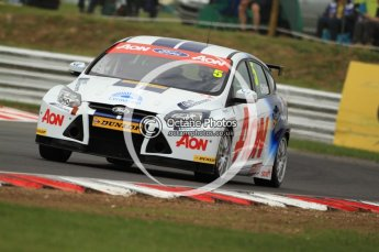 © Octane Photographic Ltd. 2011. British Touring Car Championship – Snetterton 300, Tom Chilton - Ford Focus - Team Aon. Saturday 6th August 2011. Digital Ref : 0121CB7D9484