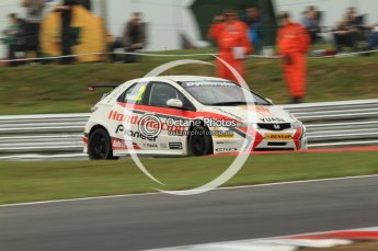 © Octane Photographic Ltd. 2011. British Touring Car Championship – Snetterton 300, Matt Neal - Honda Civic - Honda Racing Team. Saturday 6th August 2011. Digital Ref : 0121CB7D9736