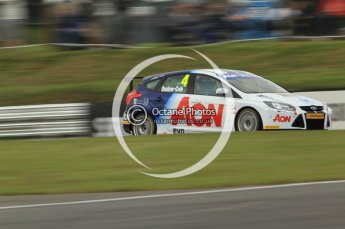 © Octane Photographic Ltd. 2011. British Touring Car Championship – Snetterton 300, Tom Onslow-Cole - Ford Focus - Team Aon. Saturday 6th August 2011. Digital Ref : 0121CB7D9788