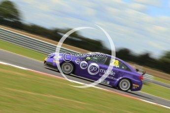© Octane Photographic Ltd. 2011. British Touring Car Championship – Snetterton 300, John George - Chevrolet Cruze - GoMobileUK.com with tech-speed. Sunday 7th August 2011. Digital Ref : 0124CB7D0041