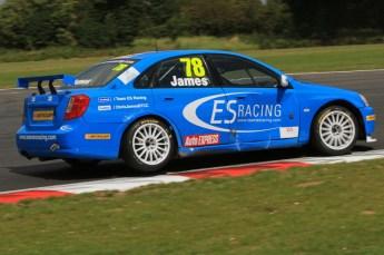 © Octane Photographic Ltd. 2011. British Touring Car Championship – Snetterton 300, Sunday 7th August 2011. Chris James - Chevrolet Lacetti - Team ES Racing.com. Digital Ref : 0124LW7D0144