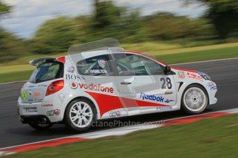 © 2011 Octane Photographic Ltd. Clio Cup - Snett - 6th August 2011. Nicholas Hamilton. Digital Ref : 0224lw7d0515