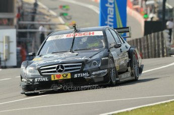 © Octane Photographic Ltd. 2011. DTM Round 7– Brands Hatch. Practice 2. Friday 2nd September 2011. Digital Ref : 0172CB1D1677