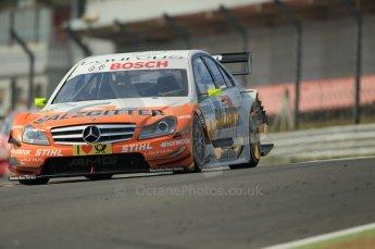 © Octane Photographic Ltd. 2011. DTM Round 7– Brands Hatch. Practice 2. Friday 2nd September 2011. Digital Ref : 0172CB1D1974