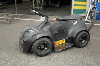 © Octane Photographic Ltd. 2011. European Formula1 GP, Friday 24th June 2011. GP2 Practice. Lotus ART mascot! Digital Ref: 0082CB1D6152