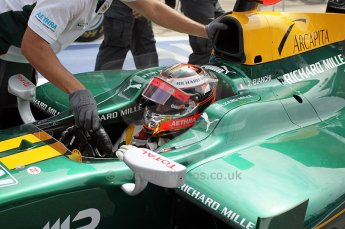 © Octane Photographic Ltd. 2011. European Formula1 GP, Friday 24th June 2011. GP2 Practice. Jules Bianchi - Lotus ART. Digital Ref: 0082CB1D6216