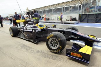 © Octane Photographic Ltd. 2011. European Formula1 GP, Friday 24th June 2011. GP2 Practice. Luca Filipi - Super Nova Racing. Digital Ref: 0082CB1D6282