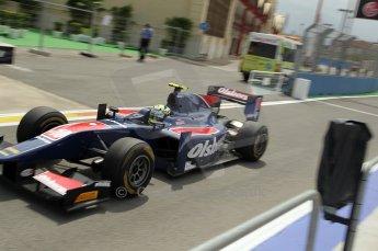 © Octane Photographic Ltd. 2011. European Formula1 GP, Friday 24th June 2011. GP2 Practice. Marcus Ericsson - iSport International. Digital Ref: 0082CB1D6307