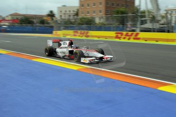 © Octane Photographic Ltd. 2011. European Formula1 GP, Friday 24th June 2011. GP2 Practice. Fabio Leimer - Rapax. Digital Ref: 0082CB1D6309