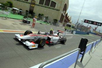 © Octane Photographic Ltd. 2011. European Formula1 GP, Friday 24th June 2011. GP2 Practice. Julian Leal - Rapax. Digital Ref: 0082CB1D6316