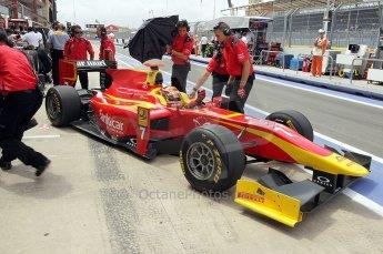 © Octane Photographic Ltd. 2011. European Formula1 GP, Friday 24th June 2011. GP2 Practice. Dani Clos - Racing Engineering. Digital Ref: 0082CB1D6420