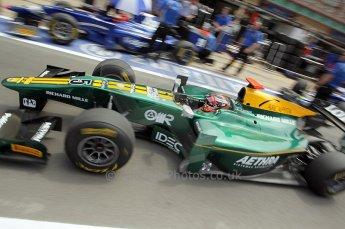 © Octane Photographic Ltd. 2011. European Formula1 GP, Friday 24th June 2011. GP2 Practice. Jules Bianchi - Lotus ART. Digital Ref: 0082CB1D6495