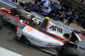 © Octane Photographic Ltd. 2011. European Formula1 GP, Friday 24th June 2011. GP2 Practice. Fabio Leimer - Rapax. Digital Ref: 0082CB1D6501