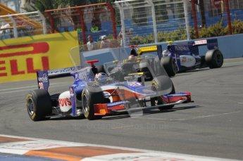 © Octane Photographic Ltd. 2011. European Formula1 GP, Sunday 26th June 2011. GP2 Sunday race. Rodolfo González - Trident Racing. Digital Ref:  0090CB1D9200