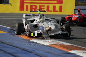 © Octane Photographic Ltd. 2011. European Formula1 GP, Sunday 26th June 2011. GP3 Sunday race. Gabby Chaves - Addax Team. Digital Ref:  0091CB1D8760