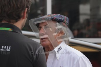 © Octane Photographic Ltd. 2011. Formula 1 World Championship – Italy – Monza – 11th September 2011. Race Day in the Paddock. Sir Jackie Stewart in the paddock before drivers parade. Digital Ref : 0193LW7D7200