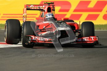 © Octane Photographic Ltd. 2011. Formula 1 World Championship – Italy – Monza – 9th September 2011 – Jerome d'Ambrosio - Virgin Marussia Racing VMR02,  Free practice 1 – Digital Ref :  0173CB1D1636