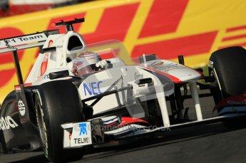 © Octane Photographic Ltd. 2011. Formula 1 World Championship – Italy – Monza – 9th September 2011 – Kamui Kobayashi - Sauber C30, Free practice 1 – Digital Ref :  0173CB1D1734