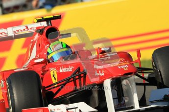 © Octane Photographic Ltd. 2011. Formula 1 World Championship – Italy – Monza – 9th September 2011 - Felipe Massa, Ferrari F150 - Free practice 1 – Digital Ref :  0173CB1D1771