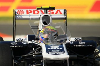 © Octane Photographic Ltd. 2011. Formula 1 World Championship – Italy – Monza – 9th September 2011 – Pastor Maldonado - WilliamsFW 33,  Free practice 1 – Digital Ref :  0173CB1D1775