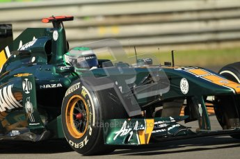 © Octane Photographic Ltd. 2011. Formula 1 World Championship – Italy – Monza – 9th September 2011 – Team Lotus TL128, Heikki Kovalainen - Free practice 1 – Digital Ref : 0173CB1D1778