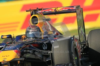 © Octane Photographic Ltd. 2011. Formula 1 World Championship – Italy – Monza – 9th September 2011 – Sebastian Vettel - Red Bull Racing RB7 - Free practice 1 – Digital Ref :  0173CB1D1807