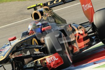© Octane Photographic Ltd. 2011. Formula 1 World Championship – Italy – Monza – 9th September 2011 – Vitaly Petrov - Renault R31 - Free practice 1 – Digital Ref : 0173CB1D1966