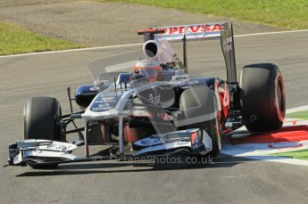 © Octane Photographic Ltd. 2011. Formula 1 World Championship – Italy – Monza – 9th September 2011 – Rubens Barrichello, Williams FW33 - Free practice 1 – Digital Ref :  0173CB1D1981