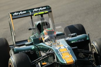 © Octane Photographic Ltd. 2011. Formula 1 World Championship – Italy – Monza – 9th September 2011 – Karun Chandhock, Team Lotus TL128, Free practice 1 – Digital Ref : 0173CB1D2123