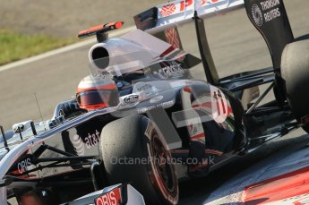 © Octane Photographic Ltd. 2011. Formula 1 World Championship – Italy – Monza – 9th September 2011 – Rubens Barrichello, Williams FW33 - Free practice 1 – Digital Ref : 0173CB1D2169