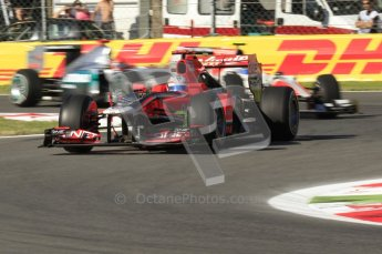 © Octane Photographic Ltd. 2011. Formula 1 World Championship – Italy – Monza – 9th September 2011 – Timo Glock - Virgin Marussia Racing VMR02, Free practice 1 – Digital Ref :  0173CB7D5772