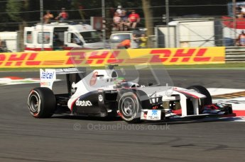 © Octane Photographic Ltd. 2011. Formula 1 World Championship – Italy – Monza – 9th September 2011 – Sergio Perez, Sauber C30 - Free practice 1 – Digital Ref : 0173CB7D5828