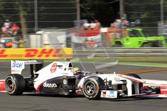 © Octane Photographic Ltd. 2011. Formula 1 World Championship – Italy – Monza – 9th September 2011 – Sergio Perez, Sauber C30 - Free practice 1 – Digital Ref : 0173CB7D5863