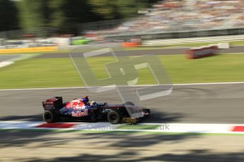 © Octane Photographic Ltd. 2011. Formula 1 World Championship – Italy – Monza – 9th September 2011 – Sebastien Buemi, Torro Roso STR6 - Free practice 1 – Digital Ref :  0173CB7D5991
