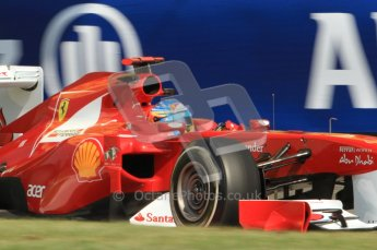 © Octane Photographic Ltd. 2011. Formula 1 World Championship – Italy – Monza – 9th September 2011, Ferrari F150 - Fernando Alonso – Free practice 2 – Digital Ref :  0174CB7D6465